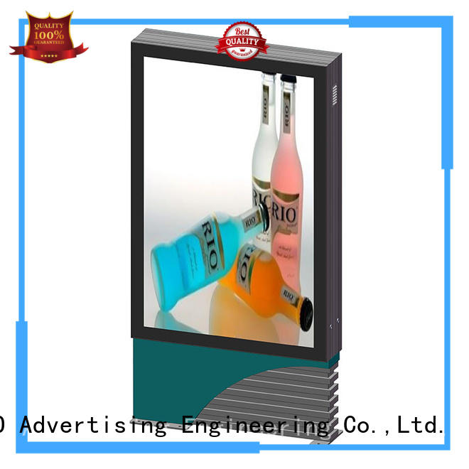cheap scrolling advertising light box for advertising