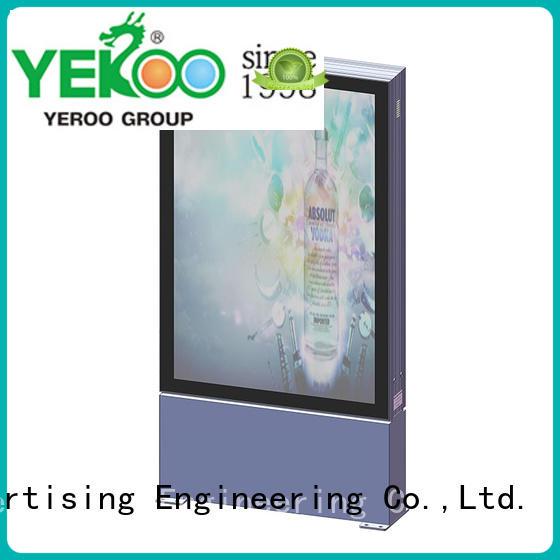 YEROO hot-sale led light box for super mall