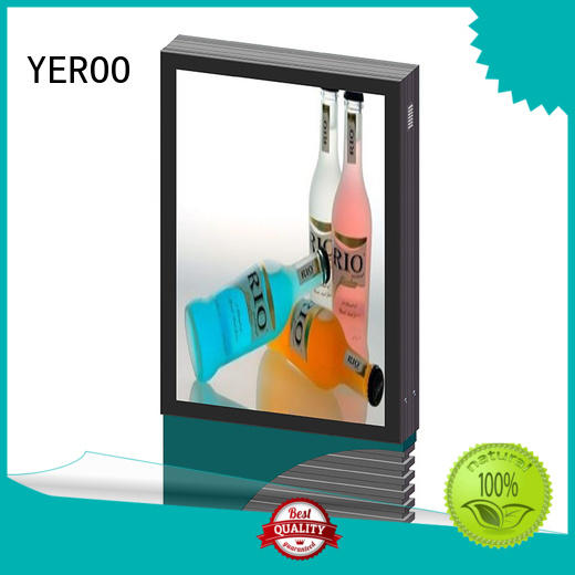 YEROO scrolling light box good quality for street ads