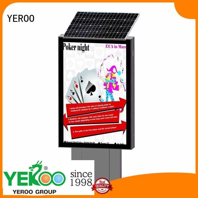 hot-sale solar light box best quality for advertising