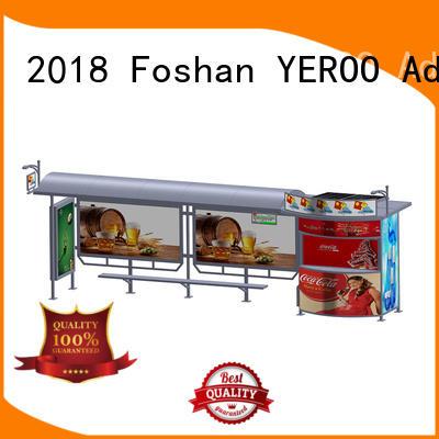 solar solar bus stop advertising stop YEROO