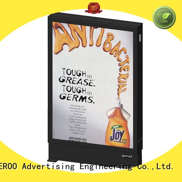 hot-sale scrolling light box backlit outdoor light