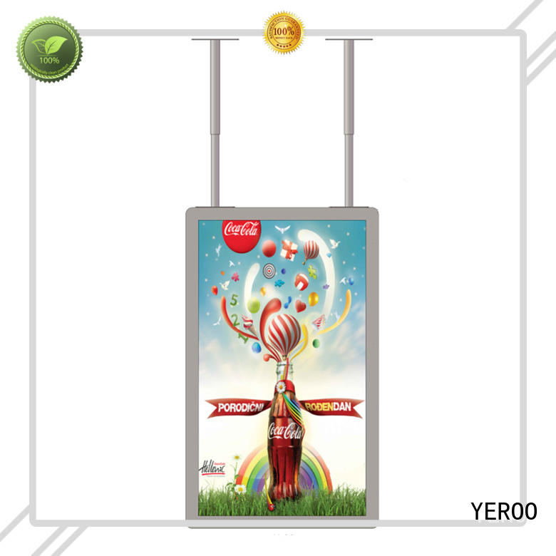 YEROO semi outdoor display wall