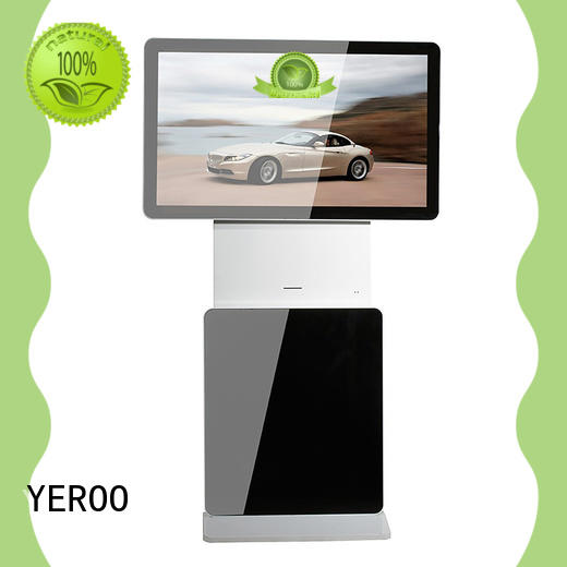 wall mounted indoor totem stand for bank YEROO