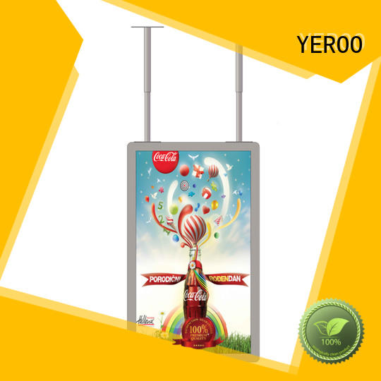 YEROO high-quality showcase outdoor lcd