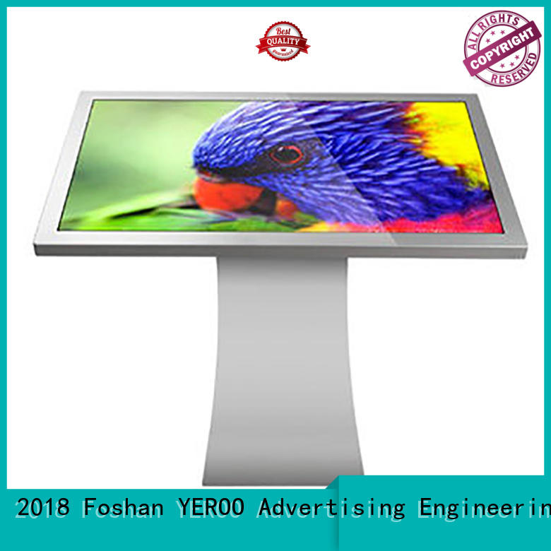 YEROO Brand led touch screen display supplier