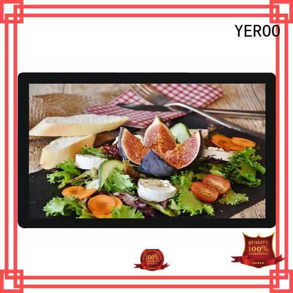 YEROO floor lcd advertising display ask now best landscape