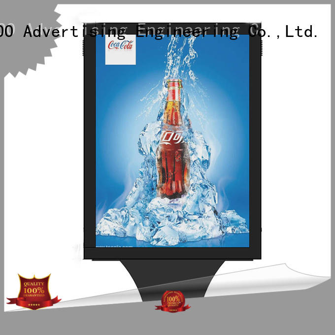 single box light box display customized design street advertising YEROO