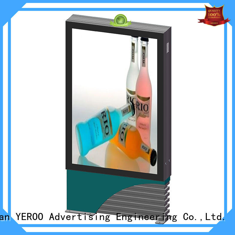 Aluminium outdoor double sides scrolling light box YR-SCLB-0002