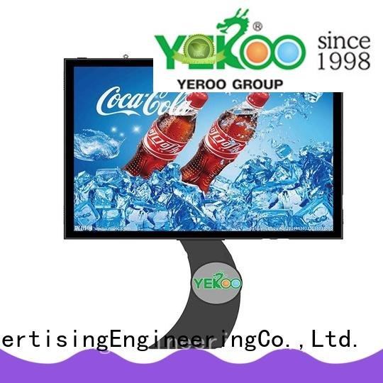 billboard scrolling advertising signs side for advertising YEROO