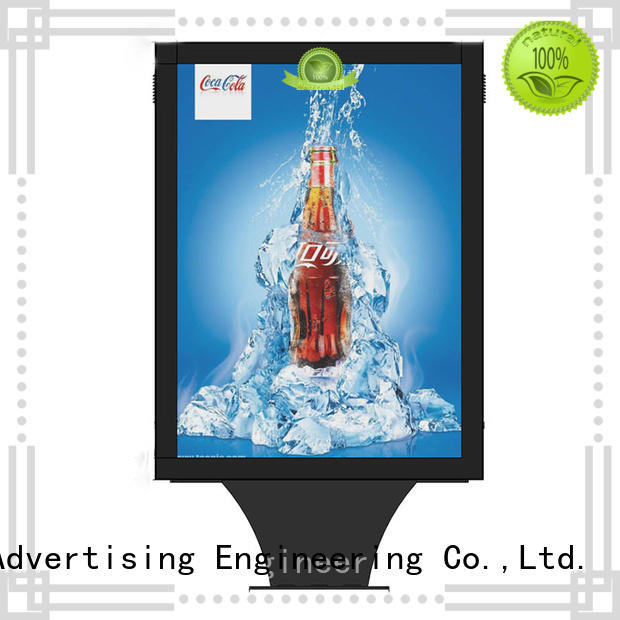 hot-sale light box display easy-operation street advertising