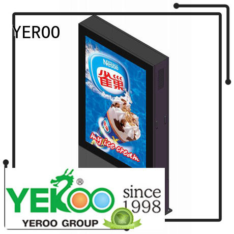 YEROO led screen display for super market