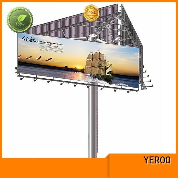 YEROO outdoor billboards bulk production for highway