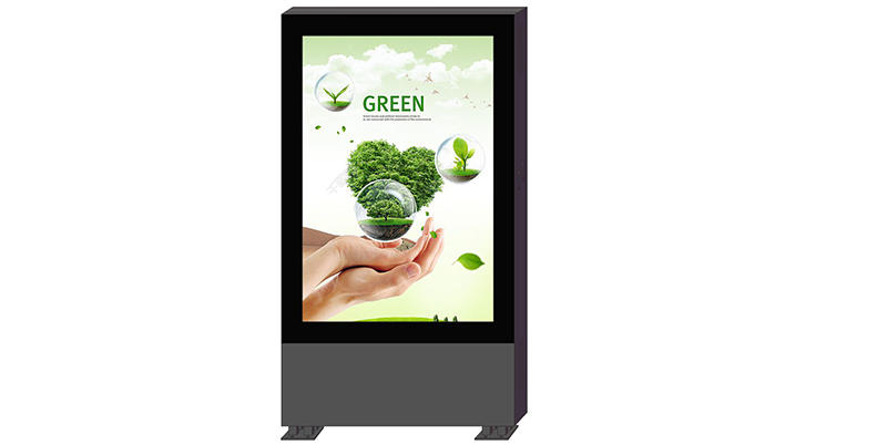 Outdoor double sided led screen display digital light box YR-DLB-0001-1