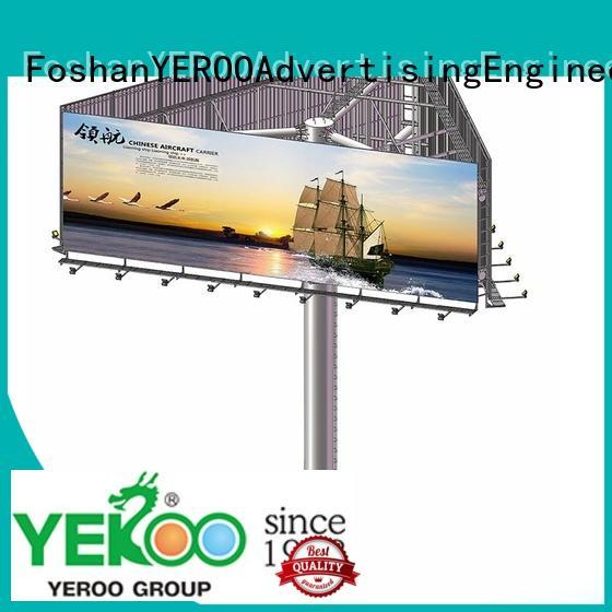 billboard stand gantry for highway YEROO