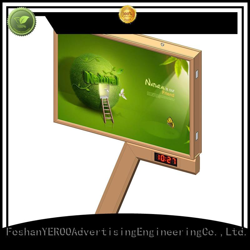 YEROO popular backlit billboard galvanized for marketing