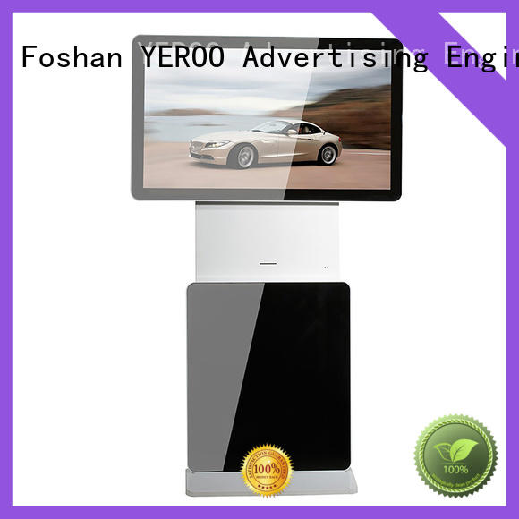 YEROO lcd advertising player competitive price smart shopping