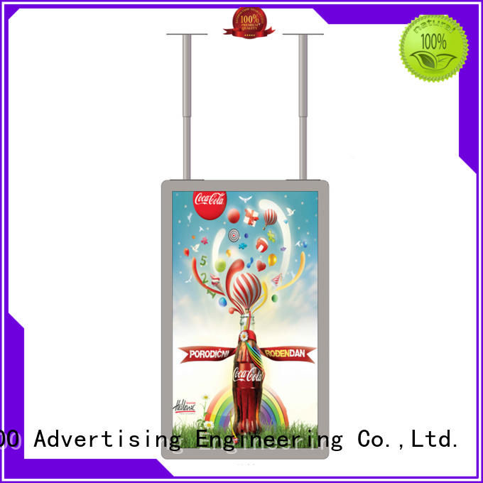 YEROO high-end showcase outdoor mounted outdoor advertising