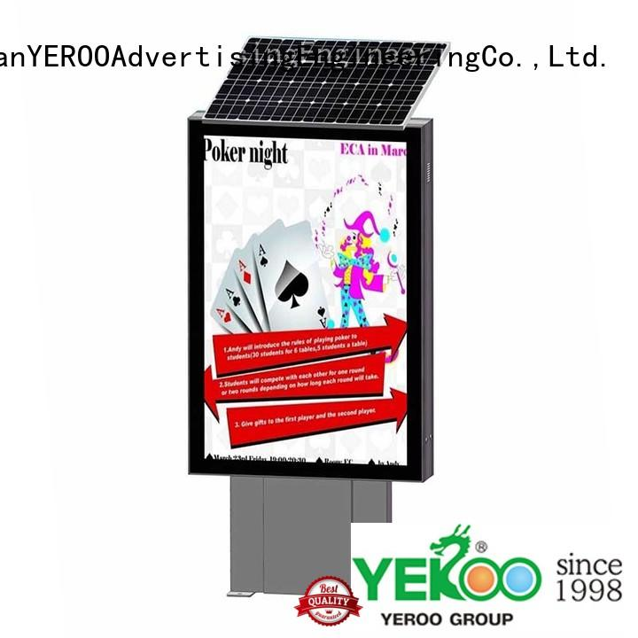 outdoor light display light box lamp for advertising YEROO