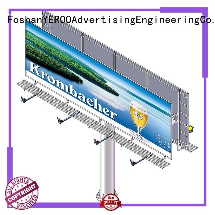 stand straight billboard structure for super mall