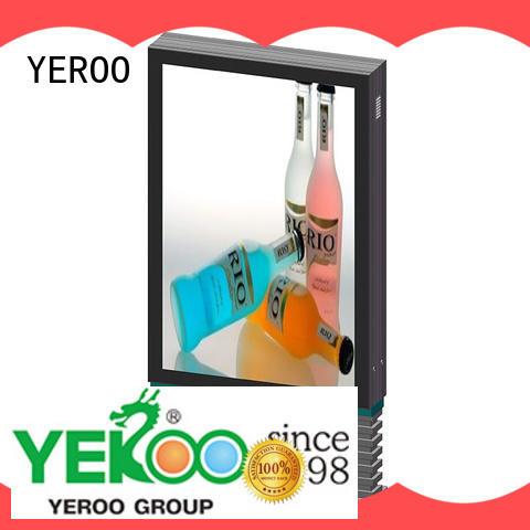 YEROO outdoor light box sign mupi outdoor light