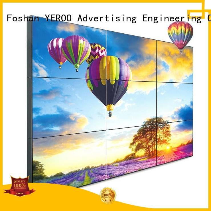 fast-installed digital display screen solar power outdoor ad