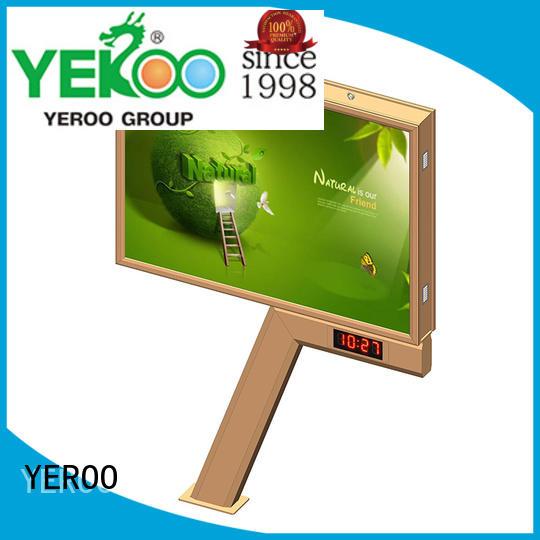 popular backlit billboard fast ads outdoor advertising