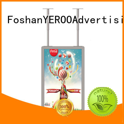 YEROO high-quality Semi-outdoor show case buy now outdoor advertising