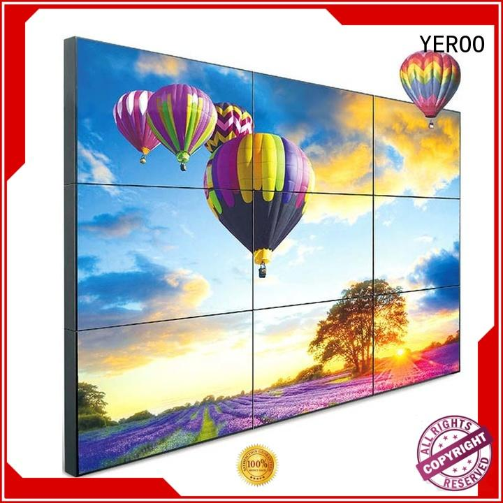 super touch screen digital signage bin outdoor ad YEROO