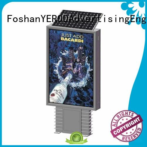 YEROO high-end standing light box bulk production for outdoor ads