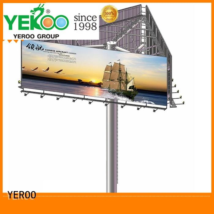 YEROO design billboard stand supplier for city ads