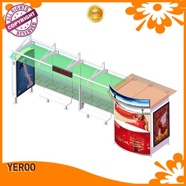 city bus shelter multi-functional YEROO