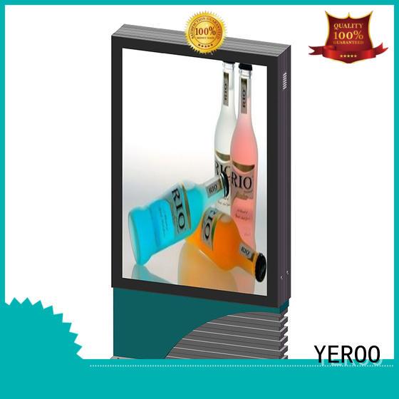 mounted scrolling light box sided outdoor light YEROO