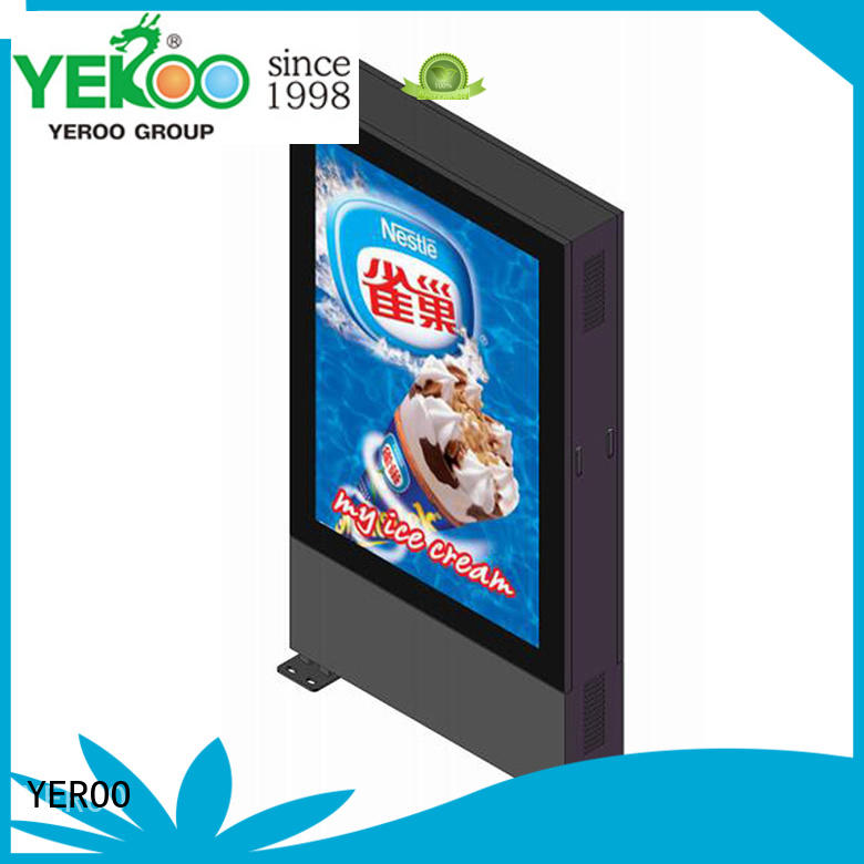 Outdoor double sided led screen display digital light box YR-DLB-0001
