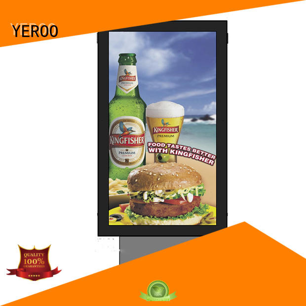 wall backlit signage box wall for advertising YEROO