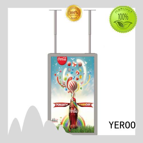 YEROO high-end showcase outdoor outdoor advertising