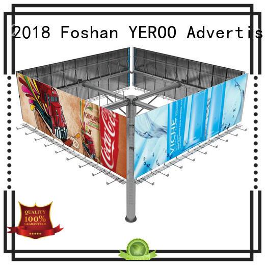 Custom doule shaped billboard advertising prices YEROO energy
