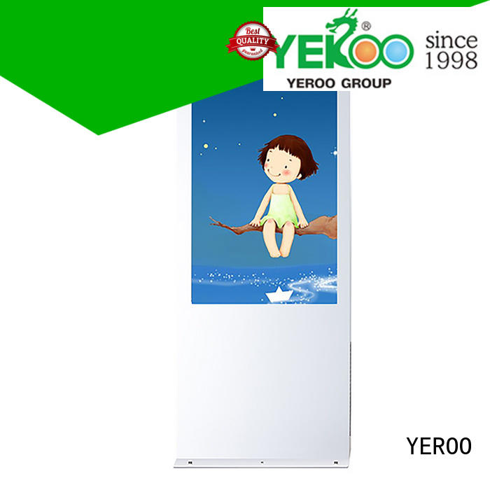 YEROO wall mounted Outdoor LCD display hot-sale for marketing