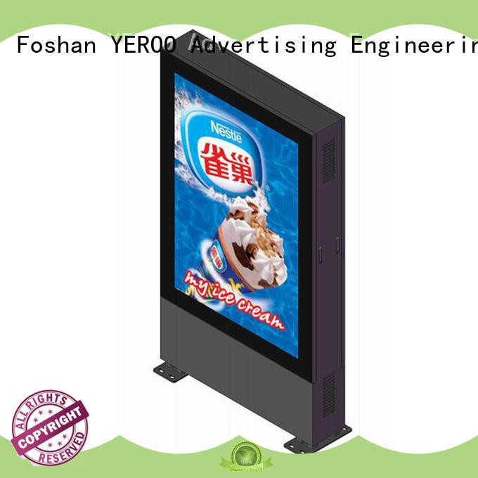 YEROO customized led screen display for super market