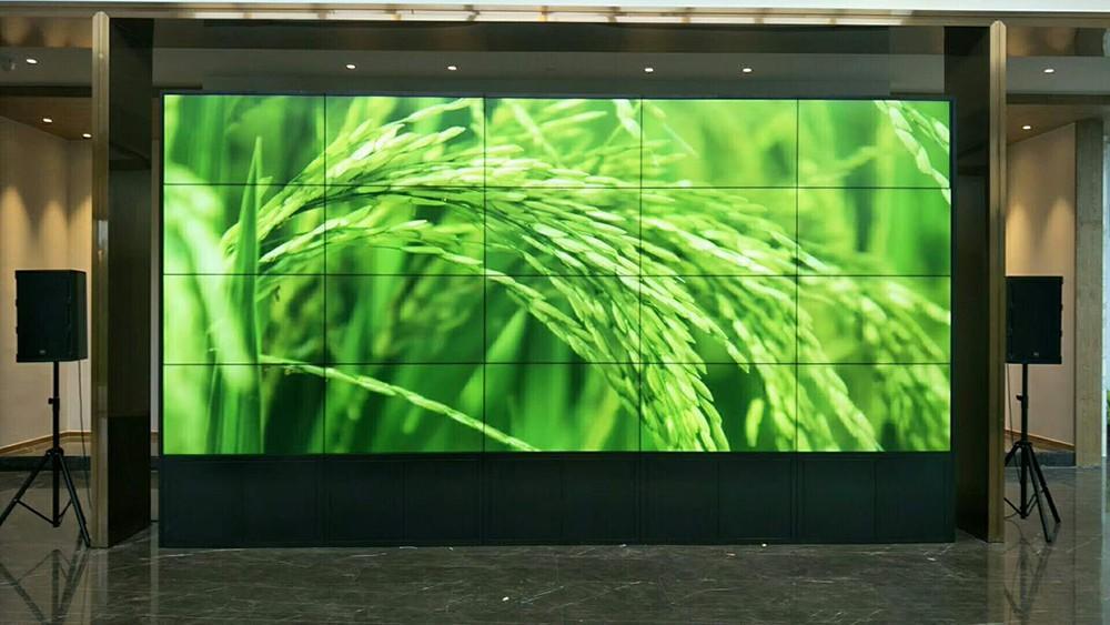 LCD video wall energy-saving outdoor ad YEROO