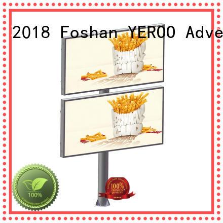 YEROO Brand steel decker lcd billboard manufacture