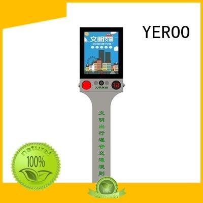 YEROO rotating outdoor led screen board for shopping mall