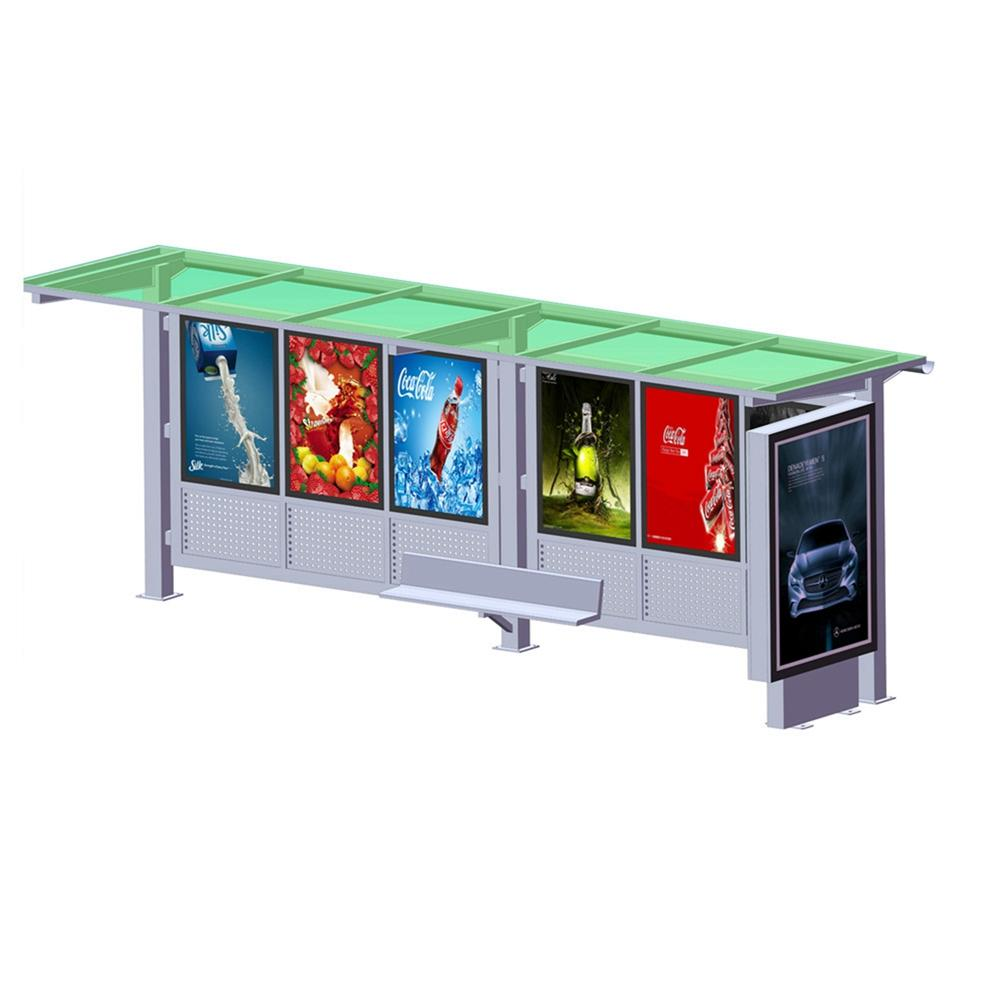 YEROO bus stop shed bulk supply for outdoor advertising-1