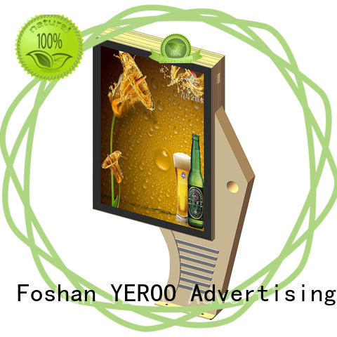light box display rust-proof street advertising YEROO