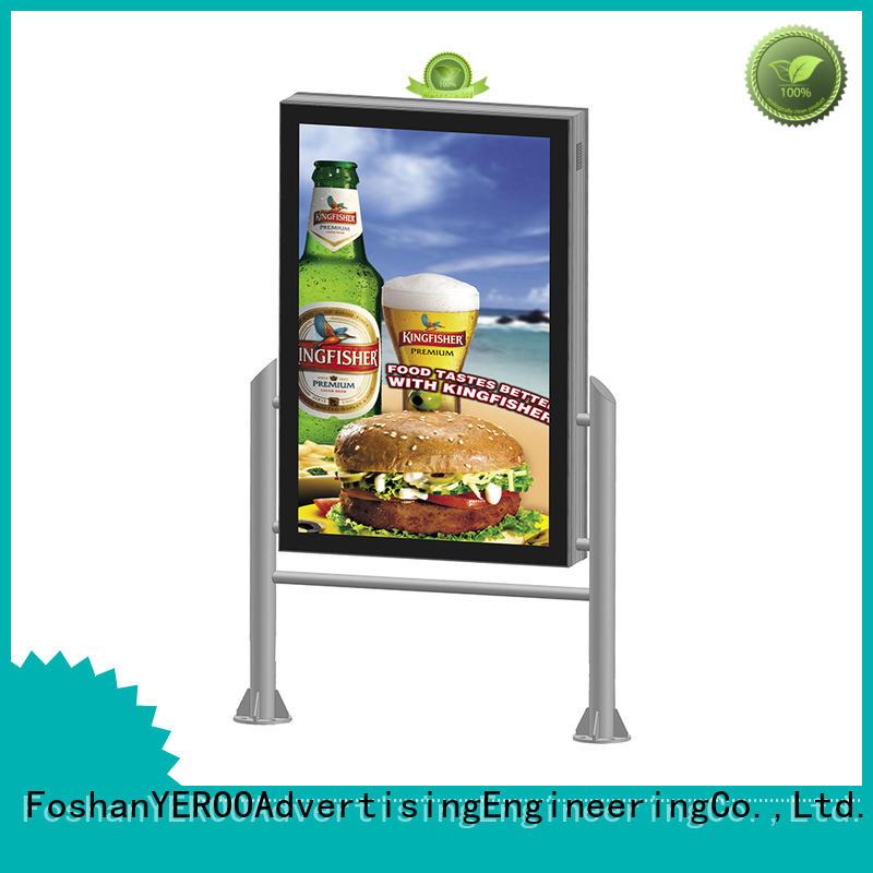 YEROO wholesale digital light box advertising outdoor light