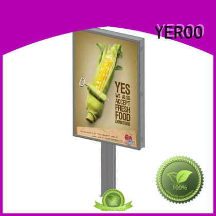 YEROO backlit billboard functional outdoor advertising