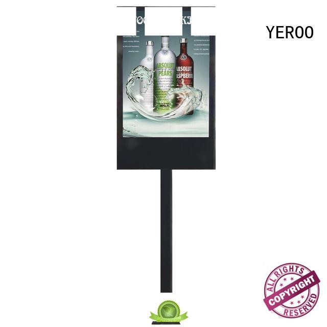 YEROO lamp mupis digitais landscape for floor display