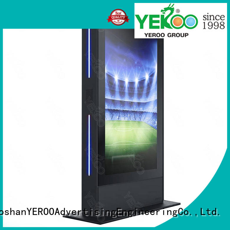 YEROO hot-sale outdoor digital totem kiosk