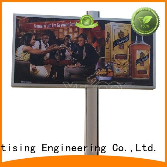 double sided mega billboard billboard