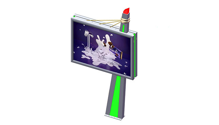 YEROO-Manufacturer Of Outdoor Billboard 2019 Outdoor Advertising Double Sided